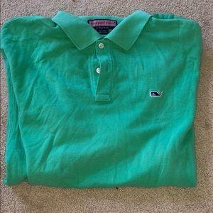 men's large short sleeve vineyard vines shirt